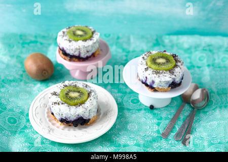 Keine Backen Joghurt Und Kokos Kuchen Mit Mandeln Getrocknet