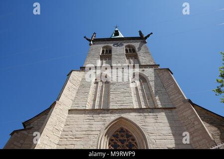 Evangelische Stadtkirche, Unna, Ruhrgebiet, Westfalen, Nordrhein-Westfalen, Deutschland, Europa ich Evangelische Stadtkirche, Unna, Ruhrgebiet, Westfalen - Stockfoto
