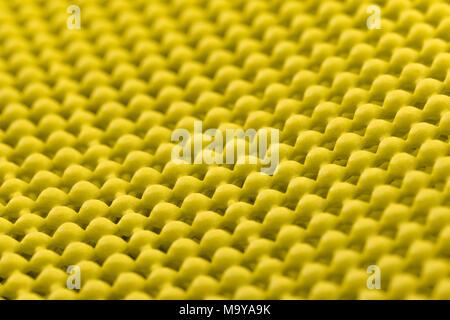 Nahaufnahme Detail der gelbe Gleiter mat