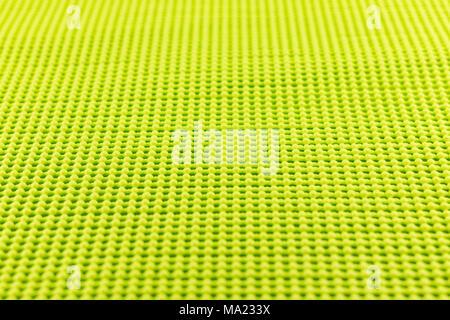 Detail der gelben Texturierte rutschfeste Matte