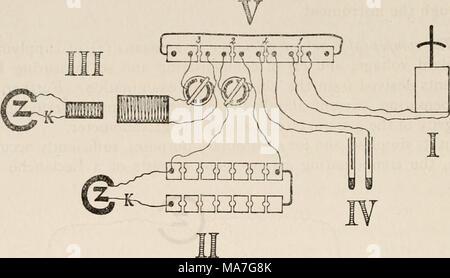 komplette elektrische schaltung stockfoto bild 7596726. Black Bedroom Furniture Sets. Home Design Ideas