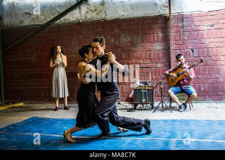 Tango, Buenos Aires, Argentinien - Stockfoto