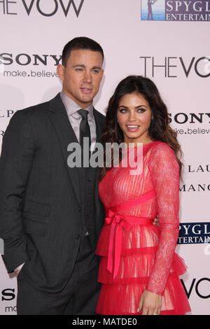 NEW YORK - November 15: Channing Tatum, der exiest Man Alive'. Am 15. November 2012 in New York City People: Channing Tatum_Jenna Dewan-Tatum - Stockfoto