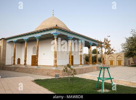 Alte Moschee und madrasah Abdushukur Agalik in Shakhrisabz, Usbekistan - Stockfoto