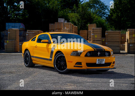 2013 Ford Mustang Boss 302 American Sports Muscle Car - Stockfoto