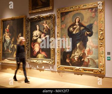 London, UK, 5. April 2018 einen Fotoauftrag fand bei Bonhams einer privaten Kunstsammlung von spanischen Meisters Bildhauer Antón Casamor. Der Verkauf findet am 11. April credit Keith 2018 Larby/Alamy leben Nachrichten - Stockfoto