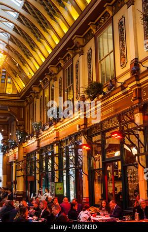 England, London, die Stadt Leadenhall Market - Stockfoto