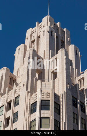 Der Titel garantieren und Trust Company Building, Pershing Square, Downtown Los Angeles, Kalifornien, USA - Stockfoto