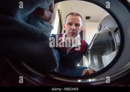loading waschmaschine stockfoto bild 8571260 alamy. Black Bedroom Furniture Sets. Home Design Ideas