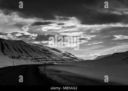 Islanda northern lights - Stockfoto