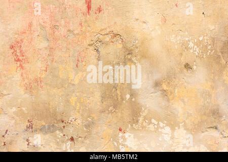 Abstrakten Hintergrund der alten gemalt mit Schichten abblätternde ...