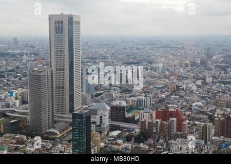 Stadtansicht von Tokio, Japan - Stockfoto