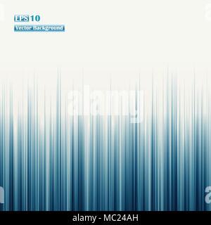 Zusammenfassung von retro Blau gerade Linien Hintergrund. Für business presentation Banner, Illustration Vector EPS 10. - Stockfoto