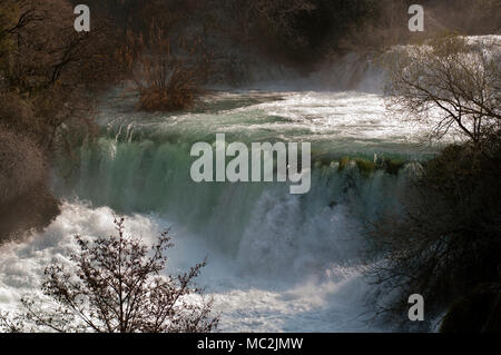 National Park Krka Wasserfälle - Stockfoto