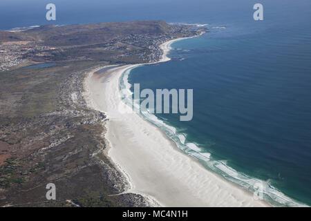 Luftaufnahme von Kapstadt Beath, Südafrika - Stockfoto