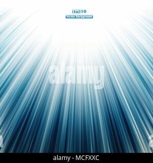 Zusammenfassung von Beschleunigen retro Blau gerade Linien Hintergrund. illustration Vector EPS 10. - Stockfoto