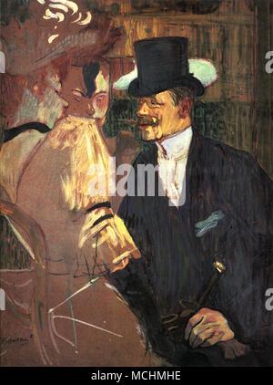 Engländer im Moulin Rouge: William Tom Warner - Stockfoto