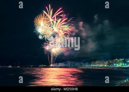 Coney-Insel-Feuerwerk