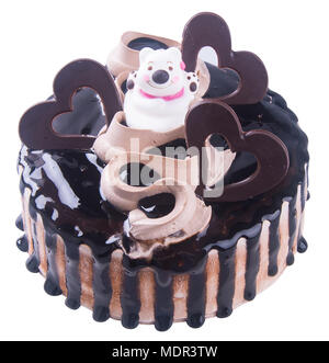 Kuchen. Schokolade Eis Kuchen - Stockfoto