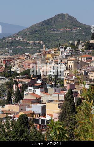 Taormina Sizilien Italien - Stockfoto