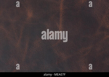 Braunes Leder Vintage Style Textur. - Stockfoto