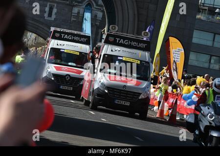 Virgin Money, London Marathon 2018 - Stockfoto