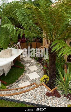 exotische pflanzen der tropischen stil garten. Black Bedroom Furniture Sets. Home Design Ideas