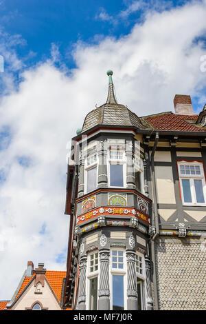 Haus in Gorlar, Niedersachsen, Deutschland - Stockfoto