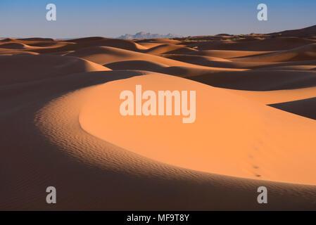 Meer von Sand, Dünen der Wüste Erg Chebbi, Westsahara, Marokko