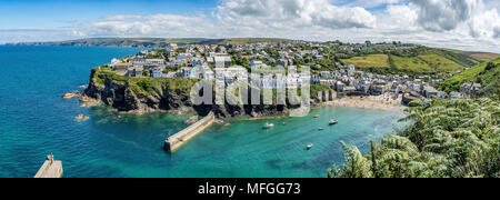 Delabole, Cornwall, Großbritannien - Stockfoto