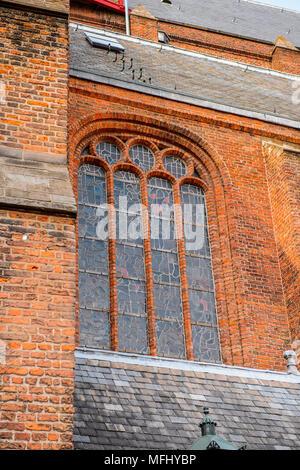 Oude Kerk, alte Kirche, Delft, Niederlande - Stockfoto