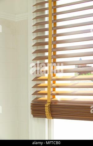 Holz Jalousie - Stockfoto