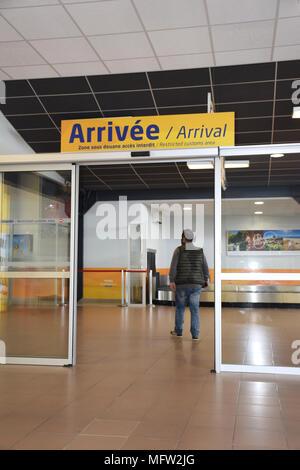 Beziers Flughafen, SW Frankreich 2018 - Stockfoto