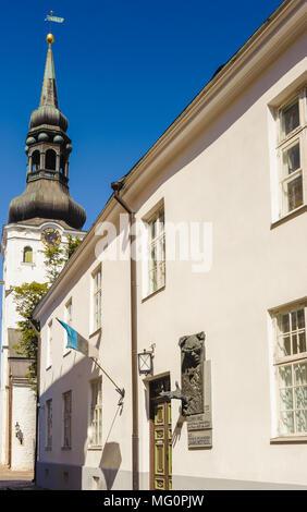 Historischen Zentrum von Tallinn Altstadt - Stockfoto