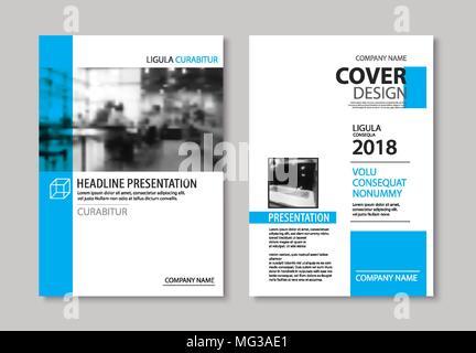 Reihe von Business-Vorlagen für Broschüre, Flyer, Cover-Magazin im ...