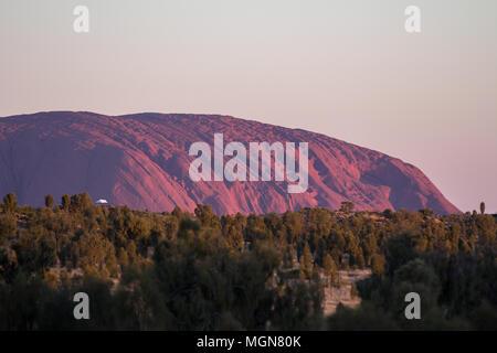 Uluru, Alice Springs, Australien - Stockfoto