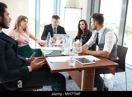 Geschäft Leute treffen Konferenz Diskussion Unternehmenskonzept. - Stockfoto