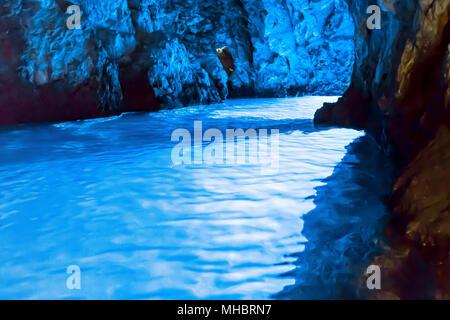 Insel Brac in Kroatien, Europa. Schöner Ort. - Stockfoto