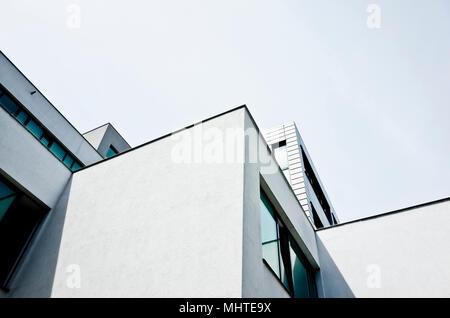 Abstrakte grafische moderne Architektur Detail