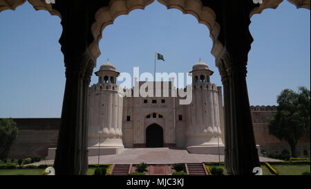 Alamgiri Tor von Lahore Fort, Punjab Pakistan - Stockfoto