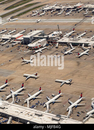"Atlanta, Georgia - Hartsfieldâ €"" Jackson Atlanta International Airport;. - Stockfoto"