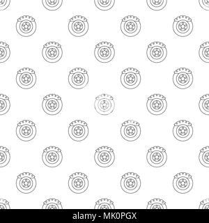 Bremsbacke Muster nahtlose Vektor - Stockfoto