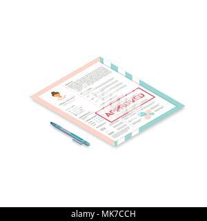 Weibliche Lebenslauf Mit Infografik Design Stilvolle Cv Für Frauen