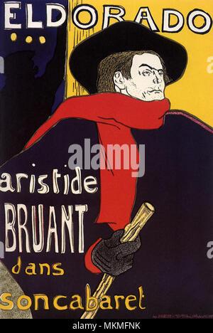 Aristide Bruant - Stockfoto