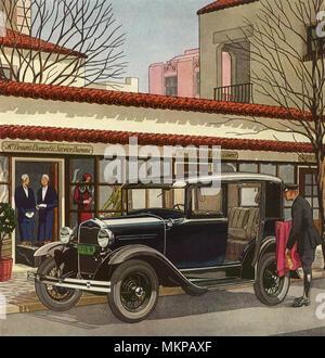 1931 Ford Sedan De Luxe - Stockfoto
