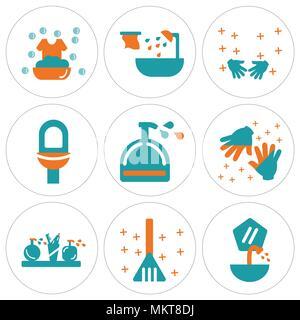 Reinigung Waschen Der Hände Hygiene Symbol Für Afrikanische Kinder