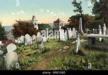 Beerdigung Hill. Plymouth. 1908 - Stockfoto