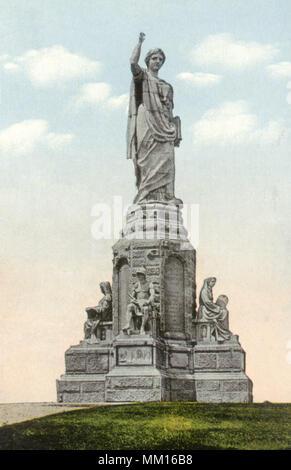 """Vorfahren"""" Denkmal. Plymouth. 1910 - Stockfoto"""