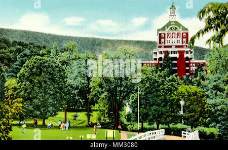Turm der Homestead. Hot Springs. 1930 - Stockfoto