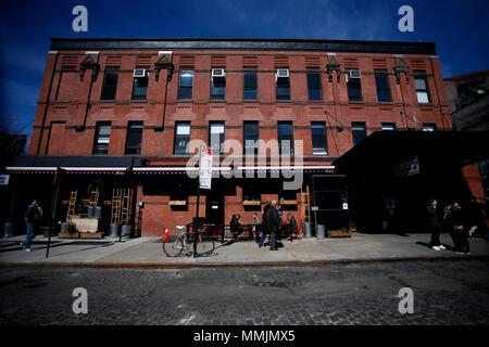 Meatpacking District von Manhattan, New York City - Stockfoto